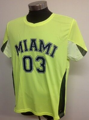 Brand New Miami Sports Jersey American Football-Gridiron-Basketball S-M-L-XL