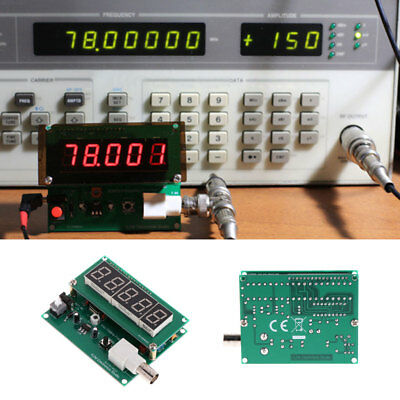 1Hz-75MHz Frequency Counter 7V-9V 50mA Cymometer Module Tester Meter Measurement