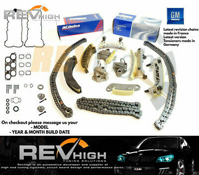 GENUINE GM V6 Holden Omega SV6 VZ VE Timing Chain Kit Set 3.6l V6 Alloytec LY7 0
