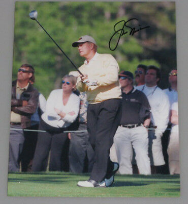 "JACK NICKLAUS Hand Signed 8""x10 "" Photo 1  * BUY GENUINE *"