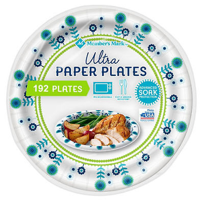 Memberu0027s Mark Ultra Plate 10-1/16  (192 ...  sc 1 st  PicClick & DIXIE ULTRA Paper Plates 10 1/16 in 176 Heavy Duty Disposable Large ...