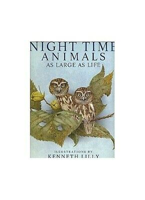 Night Time Animals (As large as life) by Cole, Joanna Paperback Book The Fast
