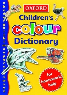 OXFORD COLOUR CHILDRENS DICTIONARY (Oxford Children) by Spooner, Alan Paperback