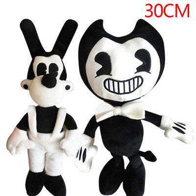 Bendy and the ink machine Bendy and Boris Toy Figure Soft Plush Doll 30CM Gift