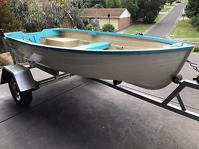 10ft Boat and trailer