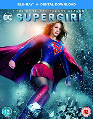 Supergirl The Second Season  DVD NEW
