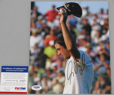 GEOFF OGILVY  Hand Signed 8'x10' Photo + PSA DNA COA  * BUY GENUINE *