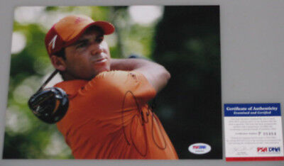SERGIO GARCIA Hand Signed 8'x10' Photo 2 + PSA DNA COA * BUY GENUINE *