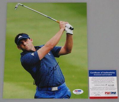 SERGIO GARCIA Hand Signed 8'x10' Photo 3 + PSA DNA COA * BUY GENUINE *