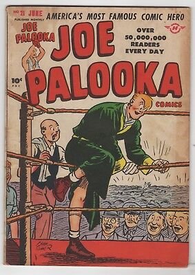 Joe Palooka #21   (Harvey 1948)    VG-
