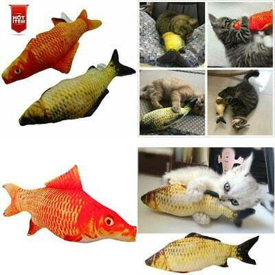 2 Pack Large Realistic Interactive Fish Cat Kicker Funny Toy Catnip Pet Toy Gift