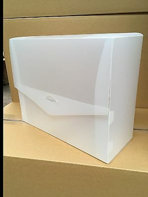 8 x Polypropylene Storage Boxes, 255mm x 320mm x 125mm capacity