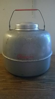 Vintage Champion Thermos Jug with Stone/Glass Liner