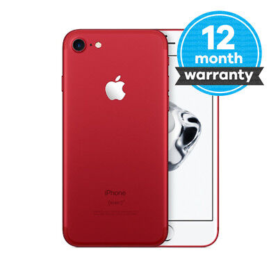 Apple iPhone 7 (PRODUCT)RED 128GB Unlocked Smartphone