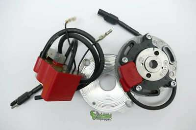 Selettra KZ complete digitales System for Honda CR 125 / 250 incl. Adapterplate