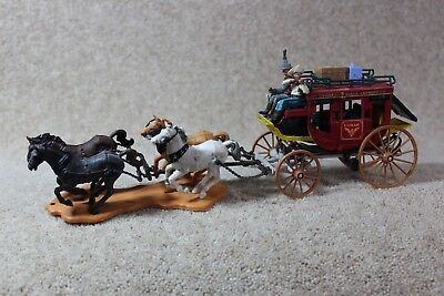 Britain's Models 7615 Concord Overland Stagecoach In Excellent Condition