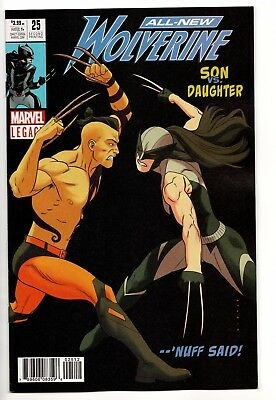 All New Wolverine #25 - Legacy / 2nd Print (Marvel, 2018) - New (NM)