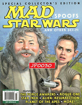 MAD Collector's Edition 2017, Spoofs Star Wars, Brand New/Sealed, SPC Specials