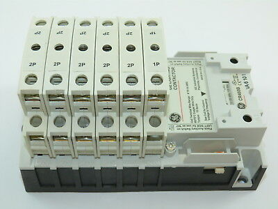 GE CR463LC0AJA Held Lighting Contactor 120v Coil 11 N.O. Poles NEW