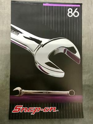 VERY RARE Vintage 1986 Snap On Tools Wall Calendar Collector's Edition NEW