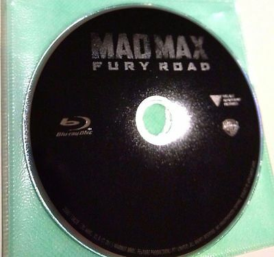 Mad Max: Fury Road, Blu-ray Disc ONLY, 2015 ( NO 3D Blu-ray, DVD or UltraViolet)