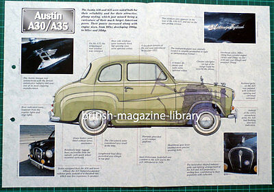 Austin A30 / A35 - Technical Cutaway Drawing