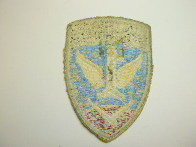 A    WW 2 U S Army 1st Allied Airborne  Cut Edge White Back Patch