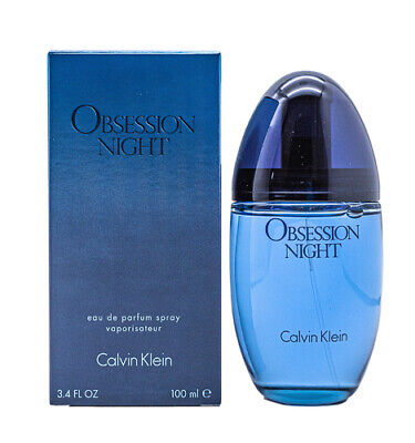Obsession Night by Calvin Klein EDP Perfume for Women 3.3 / 3.4 oz New In Box
