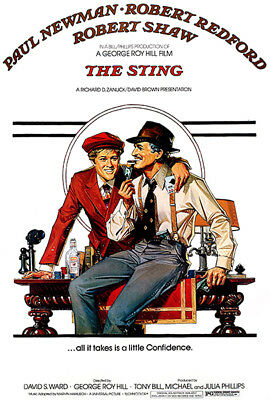 The Sting - 1973 - Movie Poster
