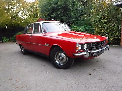 1972 Rover P6 3500 Auto, Family Owned Since New