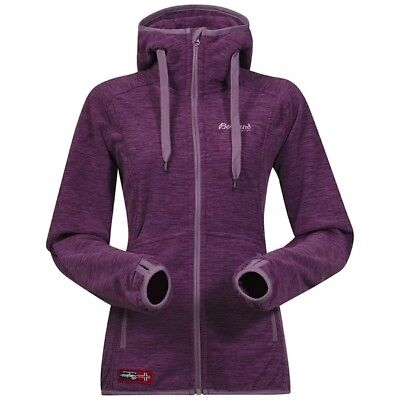 Bergans Hareid Lady Jacket Polartec-Fleece Art. 5863 Dusty Plum Gr. XS - XL NEU