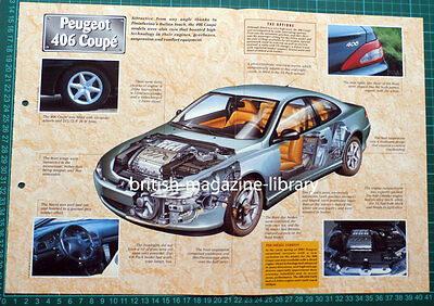 Peugeot 406 Coupe - Technical Cutaway Drawing