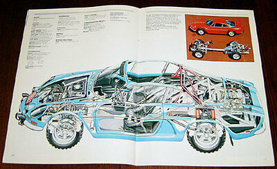Alpine A110 - technical cutaway drawing