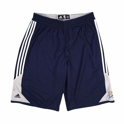 041a519658f5 OKC Thunder NBA Adidas Team Issued Reversible Practice Performance Shorts  Men s