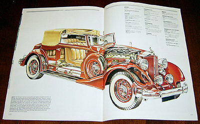 Packard V12 - technical cutaway drawing