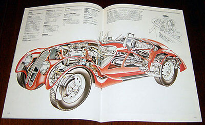 BMW 328 - technical cutaway drawing