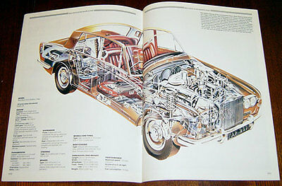 Rolls-Royce Silver Shadow - technical cutaway drawing