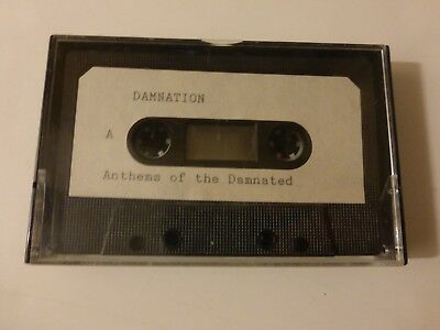 "Damnation ""Anthems of the Damnated""; 1993; Metal-Demo-Tape"