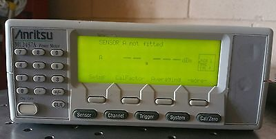 Anritsu Single Channel RF Power Meter ML2437A With Option 09.