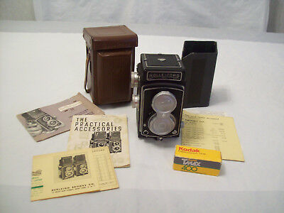 Vintage Rolleicord Drp Drgm Tlr Camera - Compur Rapid