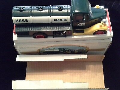 Pair Of 1980's Collectable Toy Hess Trucks