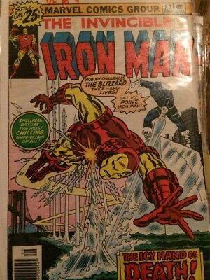 IRON MAN 9 issues  #87 , 104, Annual 8 plus more!