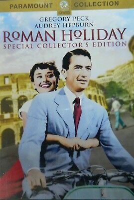 ROMAN HOLIDAY (1953) Special Collector's Edition Gregory Peck Audrey Hepburn