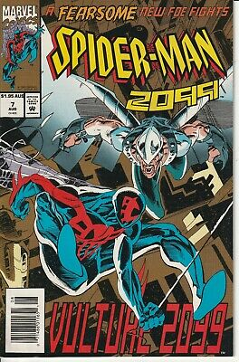 SPIDER-MAN 2099 7 Marvel 1992 N/M Never Read New Old Stock