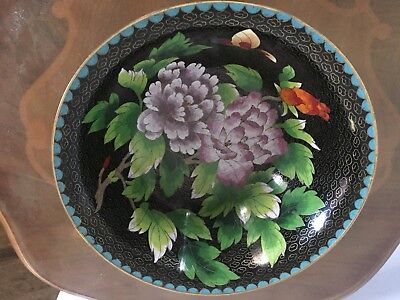 Antique cloisonne lot Chinese Japanese large bowl, vase, elephant teapot