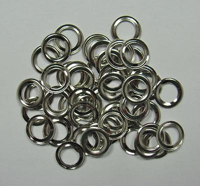 "EYELET WASHERS 3/16"" silver pack of 50 BULK craft scrapbooking cards eyelets"