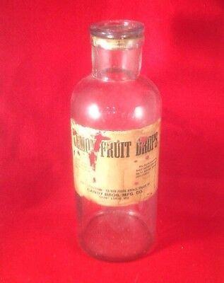 CANDY BROS MFG CONFECTIONERS St Louis MO JAR~OLD LABEL