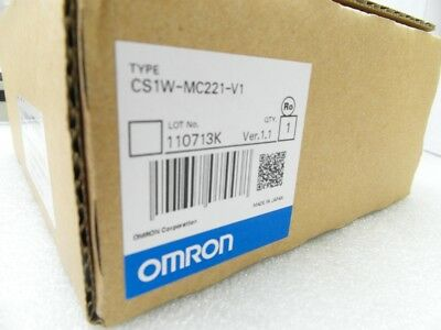 1pc New Omron PLC module CS1WMC221V1 CS1W-MC221-V1 In Box