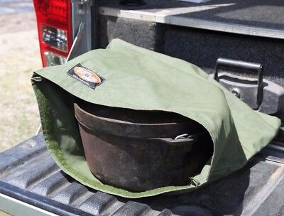 Camp oven Canvas Storage bag Large. Australian Made, Australian Canvas.