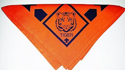 "Cub Scout TIGER NECKERCHIEF - BSA Official ""NEW"" with tag"